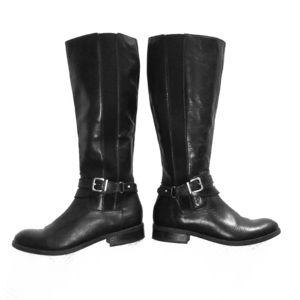 Women's Clarks Pita Vienna Black Riding Boot